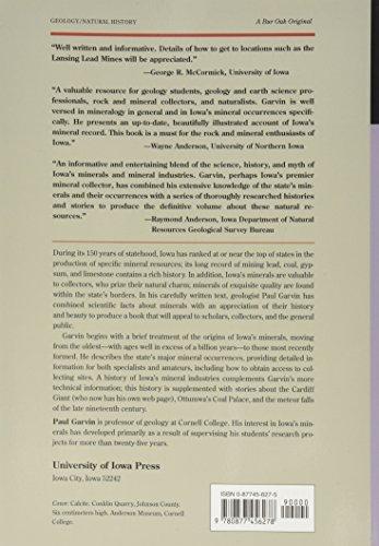 Iowa's Minerals: Their Occurance, Origins, Industries and Lore: Their Occurence, Origins, Industries and Lore (A Bur Oak Original)