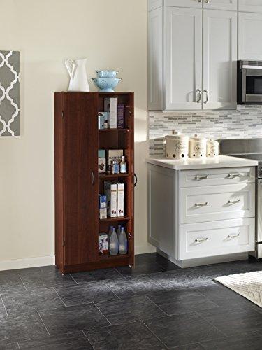 Closet Maid Pantry Cabinet Kitchen Bathroom Office Storage Shelve Laminated Wood Ebay