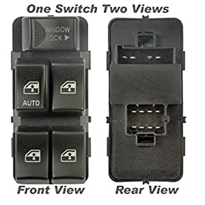 Apdty 012112 master power window switch driver side front for 2000 impala window switch