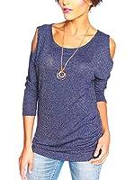 SO Cachemire & Knitwear Camiseta Manga Larga Joa (Azul Oscuro)