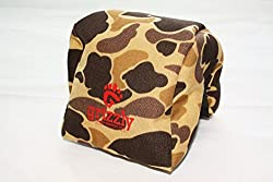 Grizzly Camera Bean Bag (MEDIUM-WILDERNESS CAMOUFLAGE), Photography Bean Bag, Video Bean Bag, Camera Support, Camera Sandbag, Camera Beanbag, Spotting Scope Support, Birders Camera, Bean Bag Tripod, African Safari Equipment, Photography Tours. Heavy Stitching, Tough, Reliable.