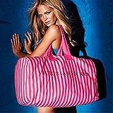 Victoria's Secret Extra Large Weekender Canvas Duffle Bag