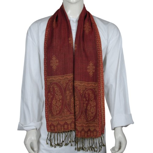 Pure Wool Neck Scarves Mens Accessory 13 X 64 inches