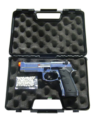 Firepower Special Forces Gas Blowback Airsoft Pistol &#8211; Chrome