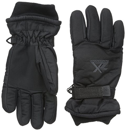 ZeroXposur Big Boys' Revolver Glove, Black, Large/X-Large