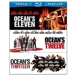Ocean's Eleven / Ocean's Twelve / Ocean's Thirteen (Triple Feature) [Blu-ray]