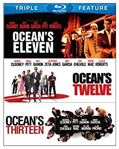 Ocean's Triple Feature (Eleven / Twelve / Thirteen) [Blu-ray]
