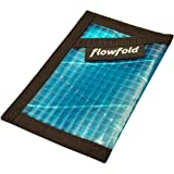Flowfold Mens Sailcloth Tarjetero Minimalist Slim Front Pocket Card Case Wallet