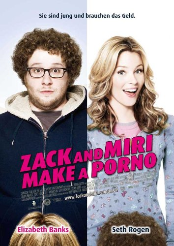 Zack and Miri Make A Porno (2008) 27 x 40 Movie Poster - German Style A