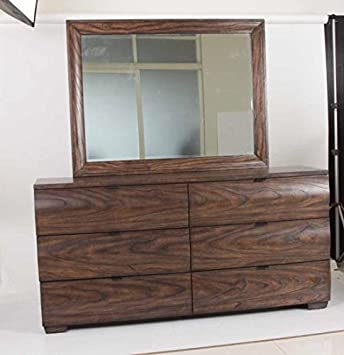Dresser in Dark Brown Finish by Coaster Furniture