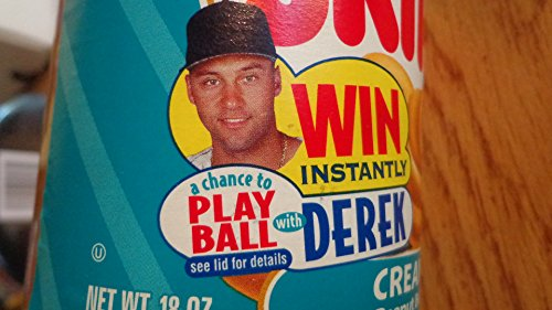 rare-derek-jeter-skippy-peanut-butter-play-ball-jar-ny-yankees-1990s