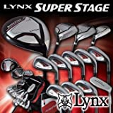 Lynx リンクス SUPER STAGE スーパーステージ フルセット (13本+キャディバッグ+ヘッドカバー付) SR