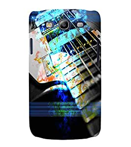 PrintVisa Music Guitar 3D Hard Polycarbonate Designer Back Case Cover for Samsung Galaxy S3