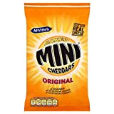 McVitie's Baked Mini Cheddars Original 50g (Pack of 18)