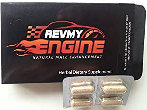 Rev My Engine Natural Male Enhancement & Testosterone Booster 4 pill sample pack!! (save $$ and Free Shipping by ordering a 10 pack of pills at seller's store click Banks All Natural below)