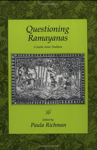 Questioning Ramayanas: A South Asian Tradition front-982196