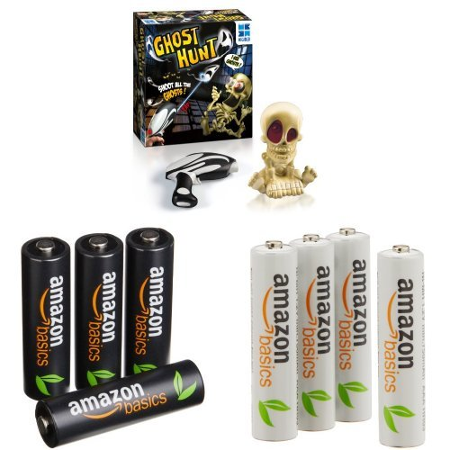 Ghost-Hunt-Game-and-AmazonBasics-Batteries
