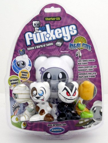 Buy Low Price Mattel Radica Funkeys Dream State Specialty Starter Kit Figure (B0019SQWLS)