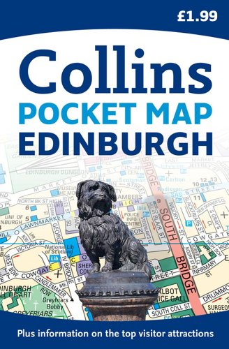 Collins Edinburgh Pocket Map (Collins Travel Guides)