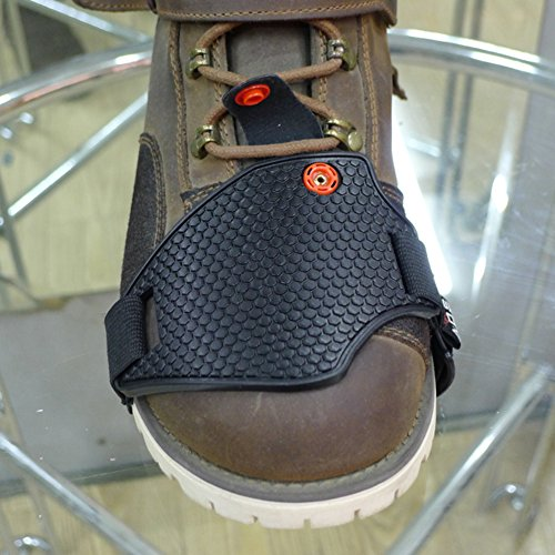 A.B Crew Soft Anti-lost Motorcycle Shoe Boot Cover Shifter Scuff Marks Protector Non Slip Stronger Heel Strap (Motorcycle Shoe Cover compare prices)