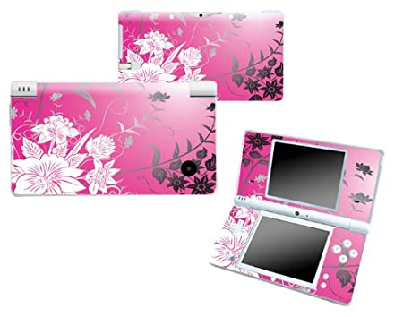 Bundle Monster Nintendo Ndsi Dsi Nds Ds i Vinyl Game Skin Case Art Decal Cover Sticker Protector Accessories - Pink Floral