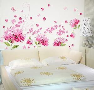 Casa immobiliare accessori fiori adesivi per pareti - Specchi adesivi per pareti ...
