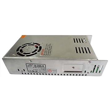 Smarstar AC110-220V à DC5V 70A 350W Conducteur d'alimentation électrique Driver pour CCTV LED Bande de lumière