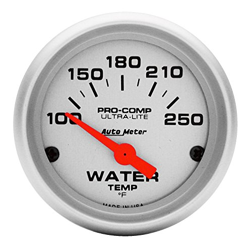 Auto Meter 4337 Ultra-Lite Electric Water Temperature Gauge (Auto Meter Oil Temperature Gauge compare prices)