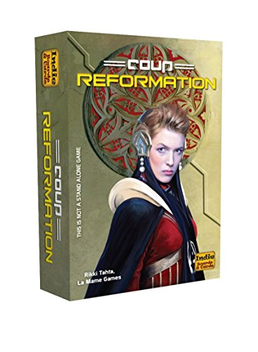 Cheapest Prices! Coup Reformation (an expansion)