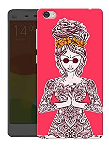 "Humor Gang Namaste Beautiful Printed Designer Mobile Back Cover For ""Xiaomi Redmi Mi5"" (3D, Matte, Premium Quality Snap On Case)"