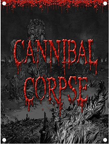 Cannibal Corpse Skeletal Domain Bandiera ufficiale tessili, 98 x 74 cm