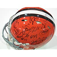 2013 Cleveland Browns Team Signed Autographed Authentic Full Size Speed Helmet Authentic Certified Coa