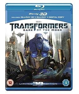Transformers: Dark of the Moon (Blu-ray 3D + Blu-ray + Digital Copy)  [2012]