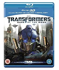 Transformers: Dark of the Moon (Blu-ray 3D + Blu-ray + Digital Copy) [Reino Unido] [Blu-ray]