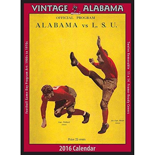 Vintage alabama crimson tide poster