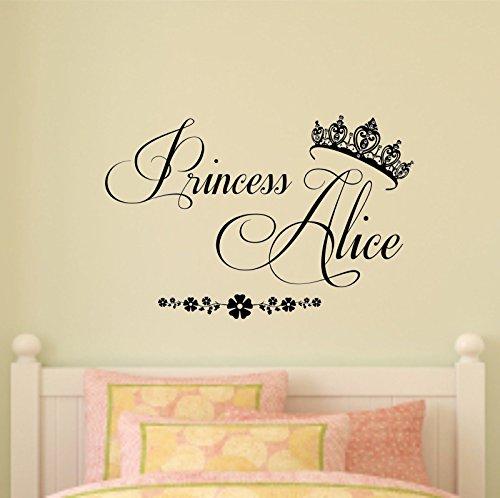 personnalise-princesse-sticker-mural-en-vinyle-papier-peint-en-chambre-chambre-de-fille-noir-100cm-w