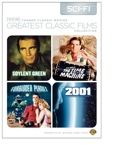Cover art for  TCM Greatest Classic Films Collection: Science Fiction (2001 A Space Odyssey / Soylent Green / Forbidden Planet / The Time Machine 1960)
