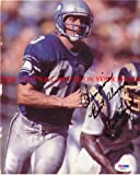 STEVE LARGENT SEATTLE SEAHAWKS SIGNED AUTOGRAPHED 8x10 RP PHOTO NFL FOOTBALL HALL OF FAME at Amazon.com