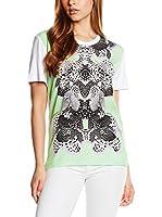 Just Cavalli Camiseta Manga Corta (Blanco / Verde / Negro)