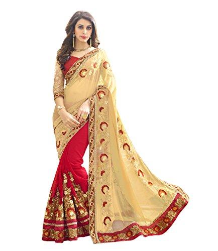 Sareeshop-Womens-Faux-Georgette-Saree-Priya001Maroon