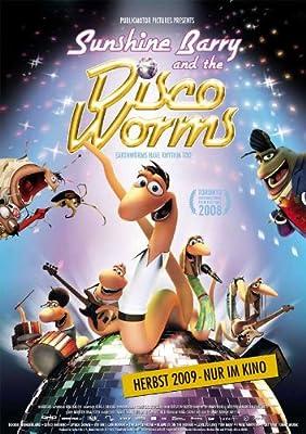Sunshine Barry & the Disco Worms Poster Movie German 11x17 Peter Fr÷din Trine Dyrholm Lars Hjortsh°j