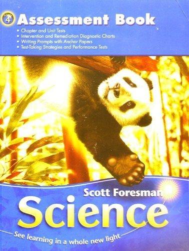 Scott Foresman Science Grade 4 Assessment Book