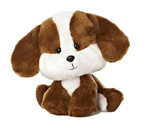 """Aurora World Wobbly Bobblee Brown Puppy Plush, 6.5"""" Tall"""