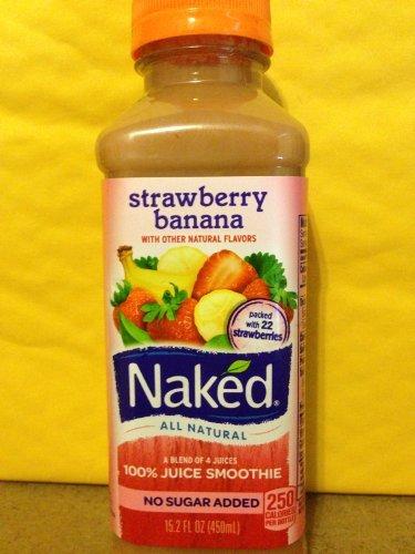 Naked Smoothie Strawberry Banana 15.2 Fl Oz (5 Pack) front-1075831