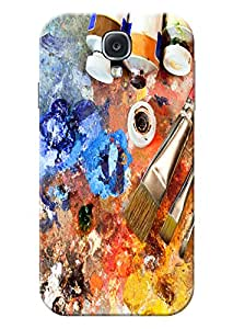 Samsung Galaxy S4 Cover Premium Quality Designer Printed 3D Lightweight Slim Matte Finish Hard Case Back Cover for Samsung Galaxy S4 by Tamah