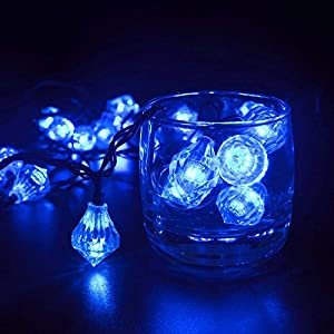 Diamond led solar garden lights