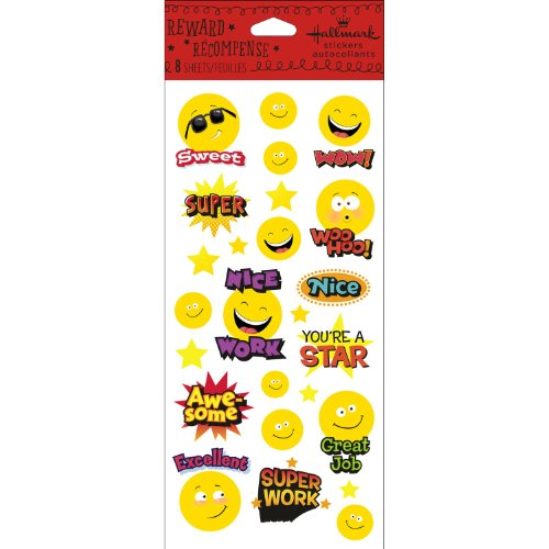 Hallmark Stickers Smiley Rewards - 1