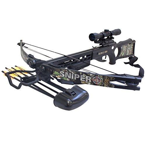 SAS Sniper 150lbs Next G1 Camo Crossbow Package