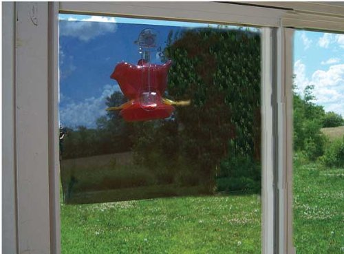 New Songbird Essentials Two-Way Window Mirror 20X12 Film Clings To Window With Removable Glue Spots (Two Way Mirror Window Film compare prices)
