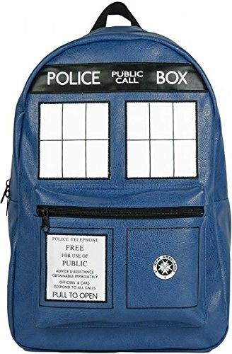 Doctor Dr. Who Tardis Backpack